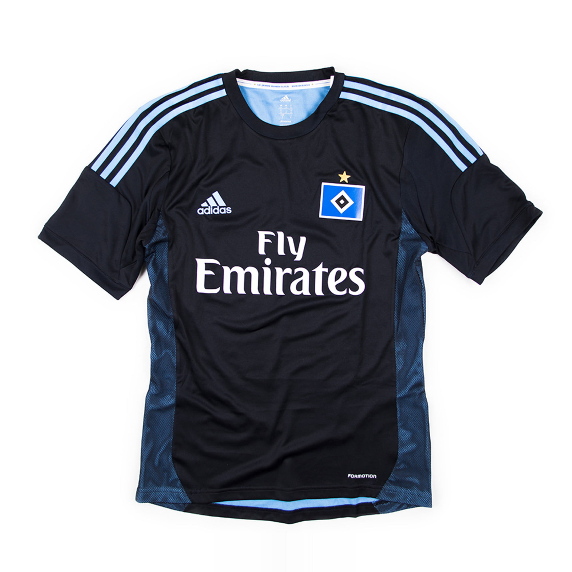 HAMBURG SV 2013-14 AWAY #23 VAN DER VAART S/S (Player Issued, BNWT)