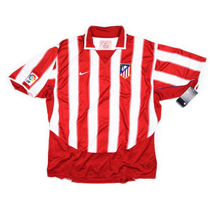 ATLETICO MADRID 2002-03 HOME S/S JERSEY (BNWT)