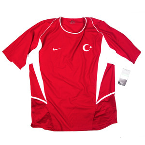 TURKEY 2003-04 HOME S/S JERSEY (BNWT)