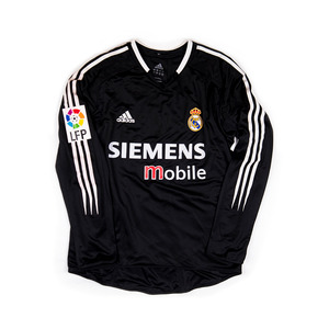 REAL MADRID 2004-05 AWAY #17 PORTILLO L/S (Player Issued)