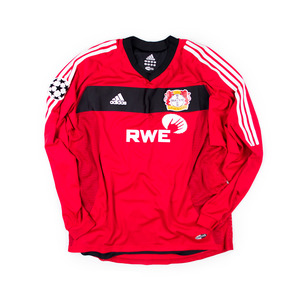 LEVERKUSEN 2002-03 HOME #28 RAMELOW L/S (Player Issued)