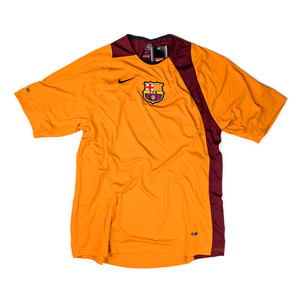 FC BARCELONA 2004-05 TRAINING TOP S/S (BNWT) - ORANGE