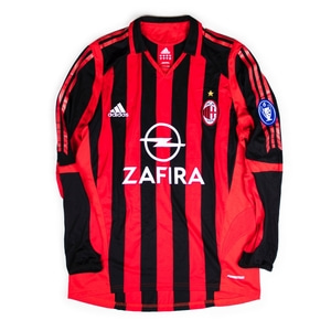 AC MILAN 05-06 HOME #11 GILARDINO (Player Issued)