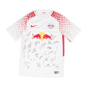 RB LEIPZIG 2017-18 HOME S/S(SIGNED)
