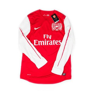 ARSENAL 2011-12 HOME L/S (PLAYER ISSUE,BNWT)