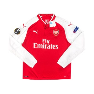 2017-2018 ARSENAL HOME S/S #12 GIROUD