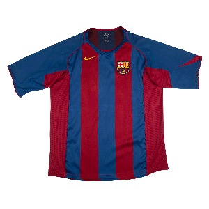 2004-2005 BARCELONA HOME S/S #30 MESSI