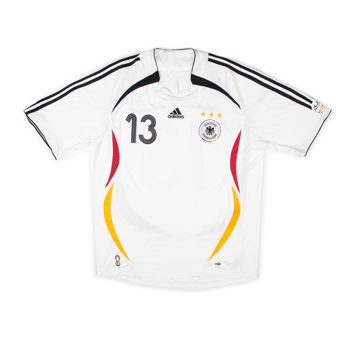 2005-2007 GERMANY HOME S/S #13 BALLACK