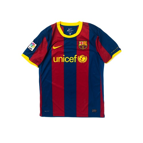 Barcelona 2010-2011 HOME S/S L #10 MESSI