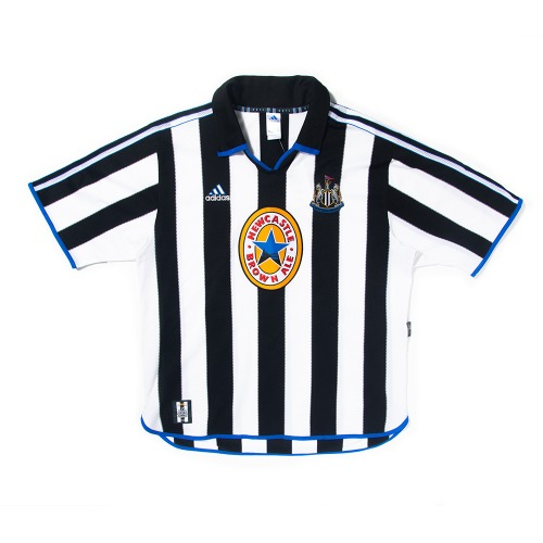 Newcastle 1999-2000 HOME S/S XL #9 SHEARER