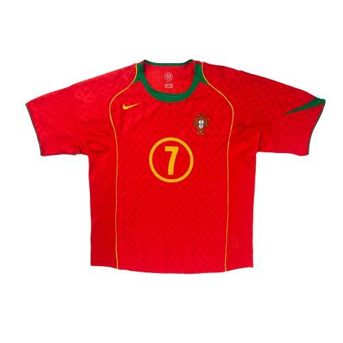 Portugal 2004-2006 HOME S/S XL #7 FIGO