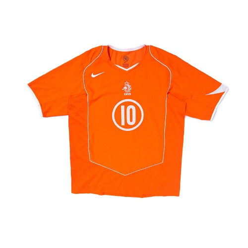 Holland 2004-2006 HOME S/S XL #10 V.NISTELROOY