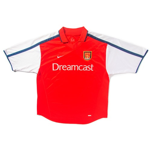 Arsenal 2000-2002 HOME S/S XL #14 HENRY