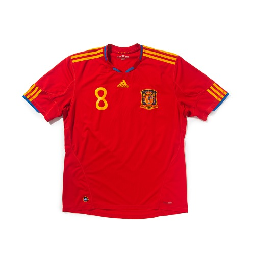 Spain 2010-2012 HOME S/S XL #8 XAVI