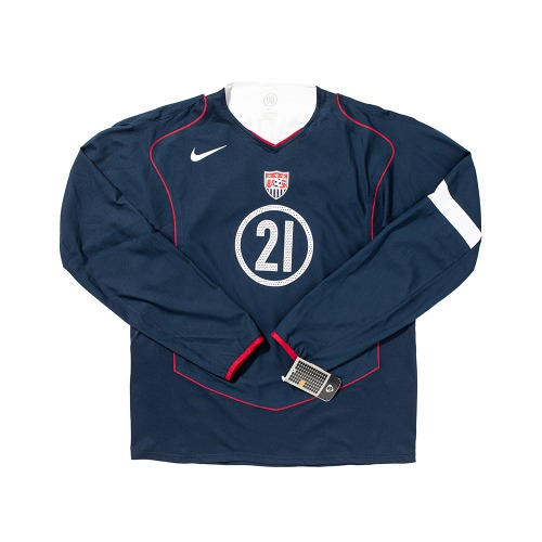 USA 2004-2006 AWAY L/S XL #21 DONOVAN